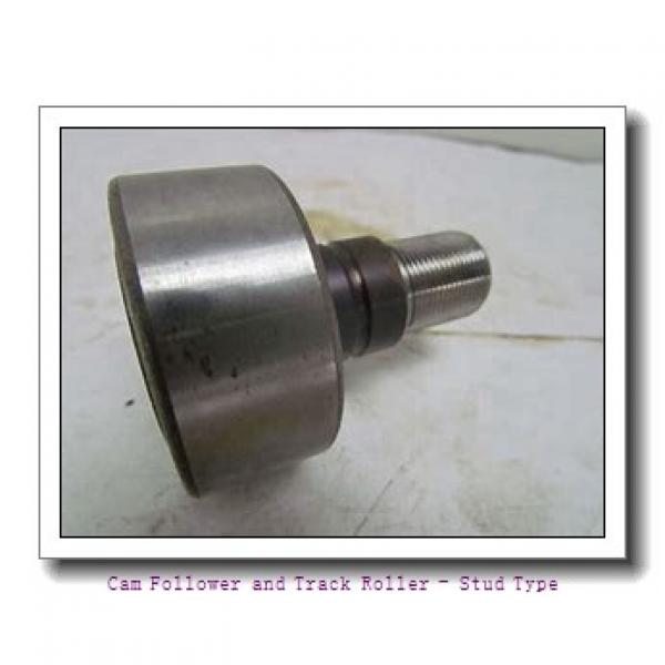 IKO CFSFU-12-1  Cam Follower and Track Roller - Stud Type #3 image